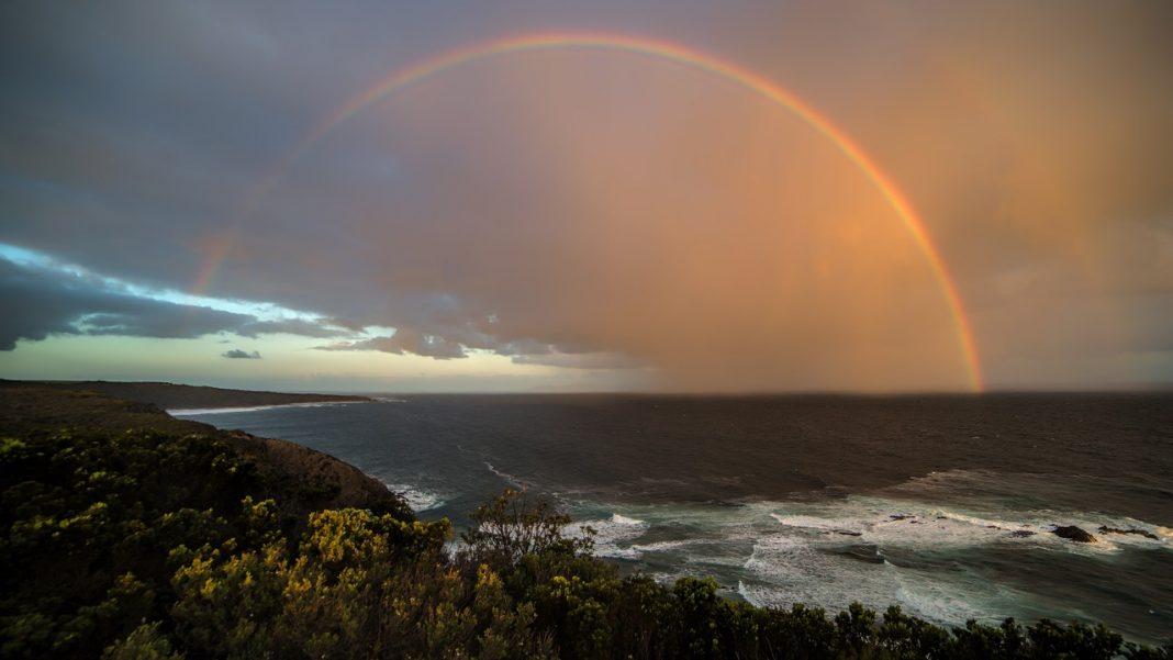 arcobaleno paesaggio