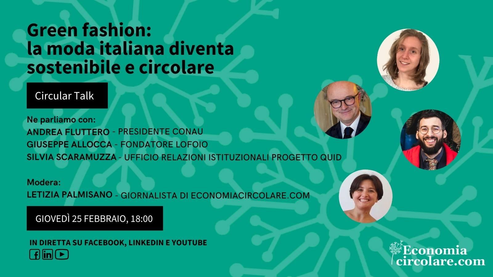 Green fashion la moda italiana diventa sostenibile e circolare