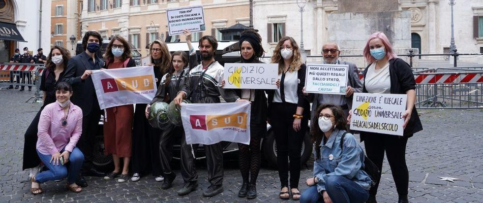 causa stato italiano inazione climatica